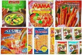 Thai Foods & Fruits